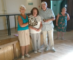 Cickers at Atcham bowling club